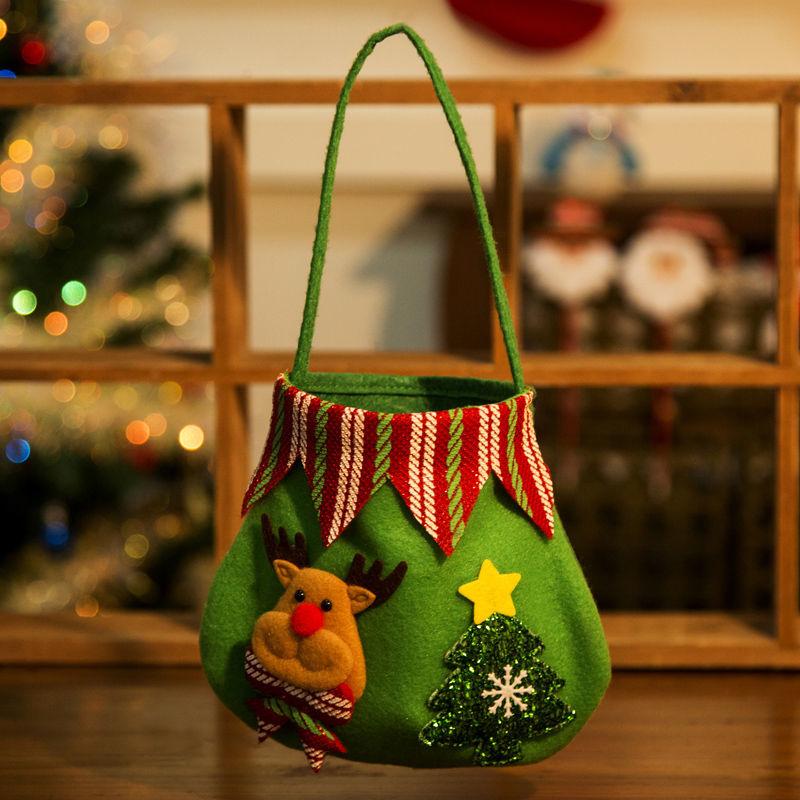 13 * 16 cm Fırçalı Flanşet-Noel