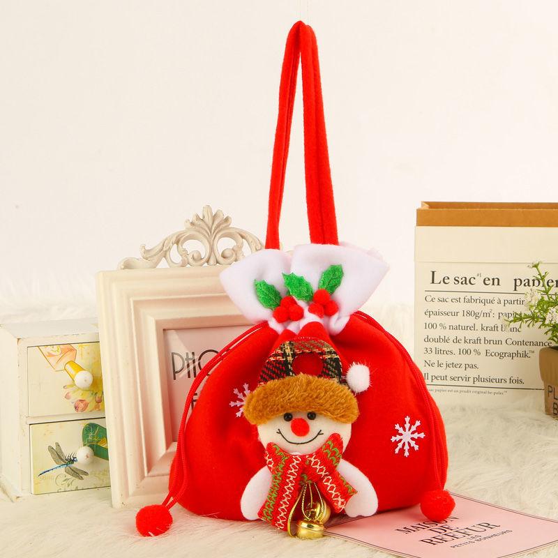 20 * 22cm Yeni Fırçalı Flanel-Noel