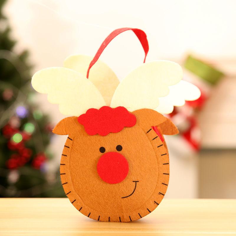 5 * 16 cm dokunmamış kumaş-Noel geyiği
