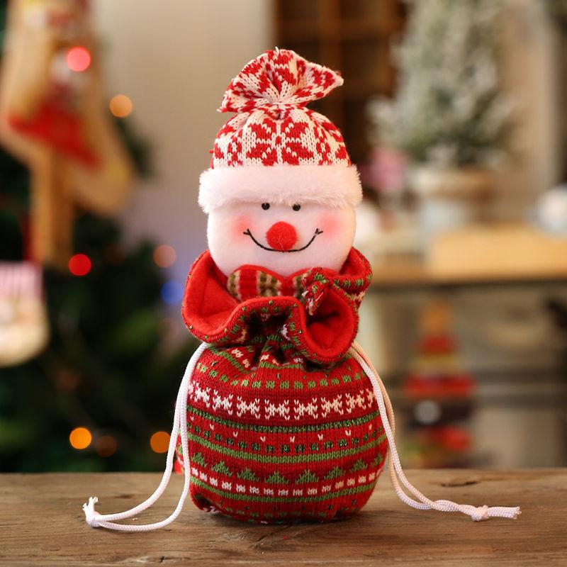 13 * 25 cm örme-Noel kardan adam