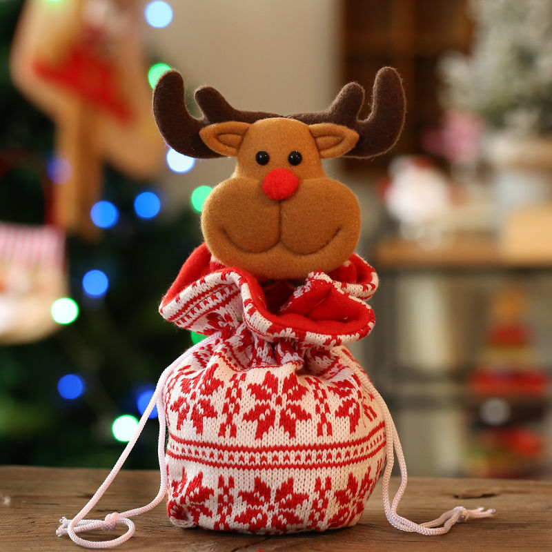 13 * 25 cm örme-Noel geyiği