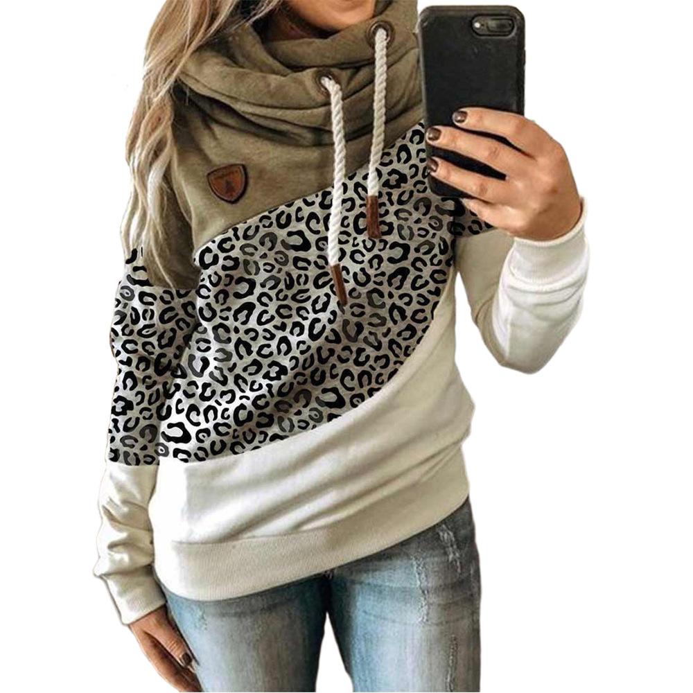 Leopard-Druck Khaki.