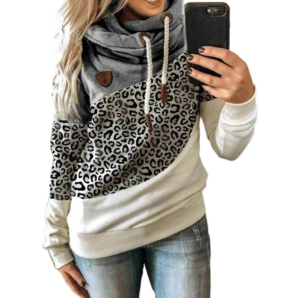 Leopard-Druck-Grau