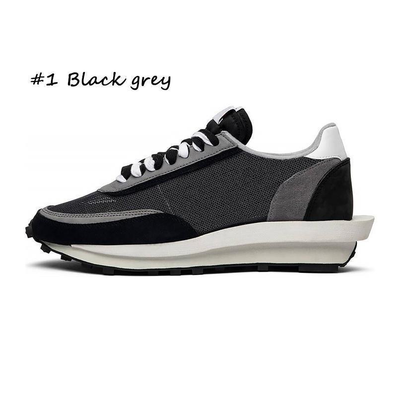 # 1 schwarz grau