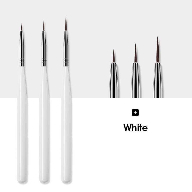 3 قطع الأبيض