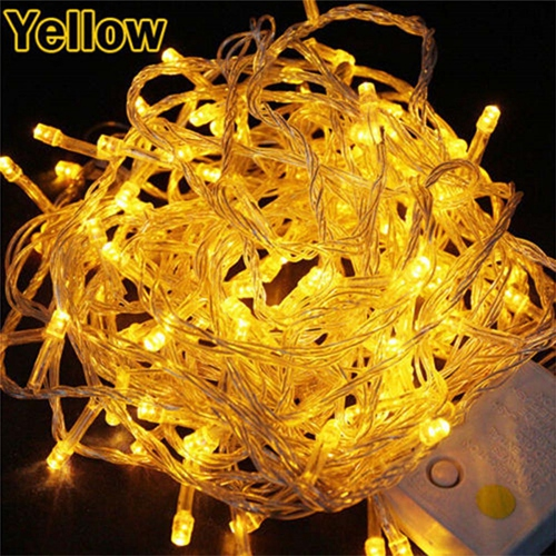 Amarelo 220V EU plug
