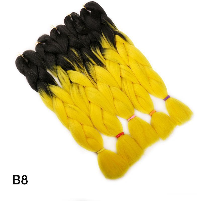 옹 브레 색상