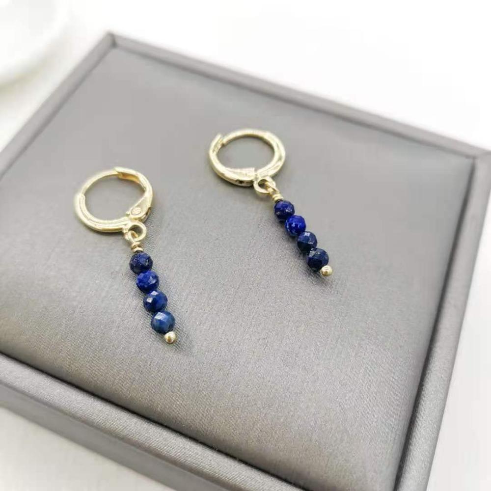 Lapis Lazuli 14k Oro llenado
