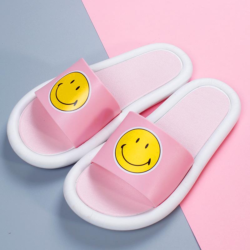 Rosa cara sonriente