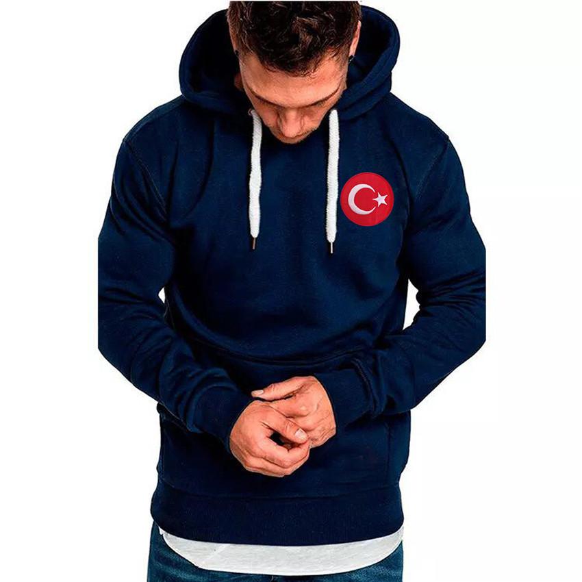 Hoodie-Marineblau