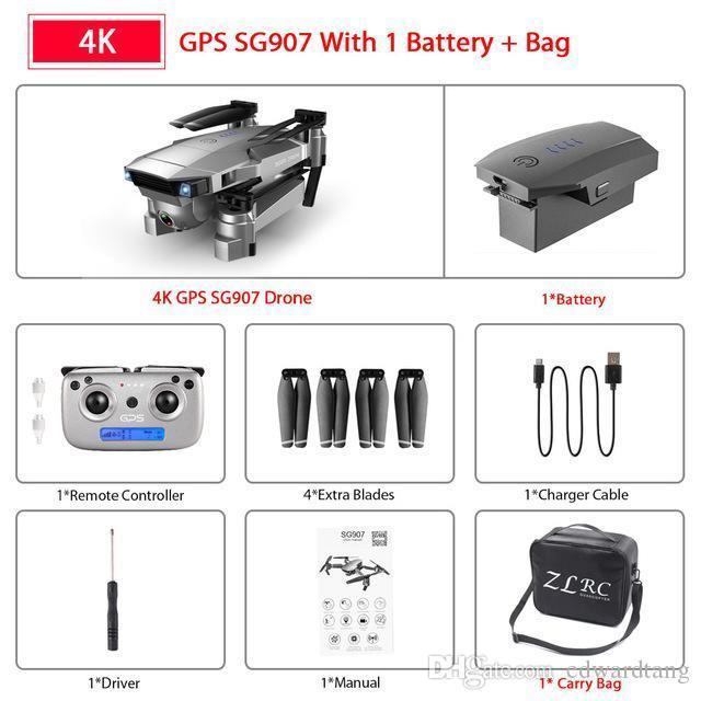 4K + Portable Tasche + 1 * Batterie