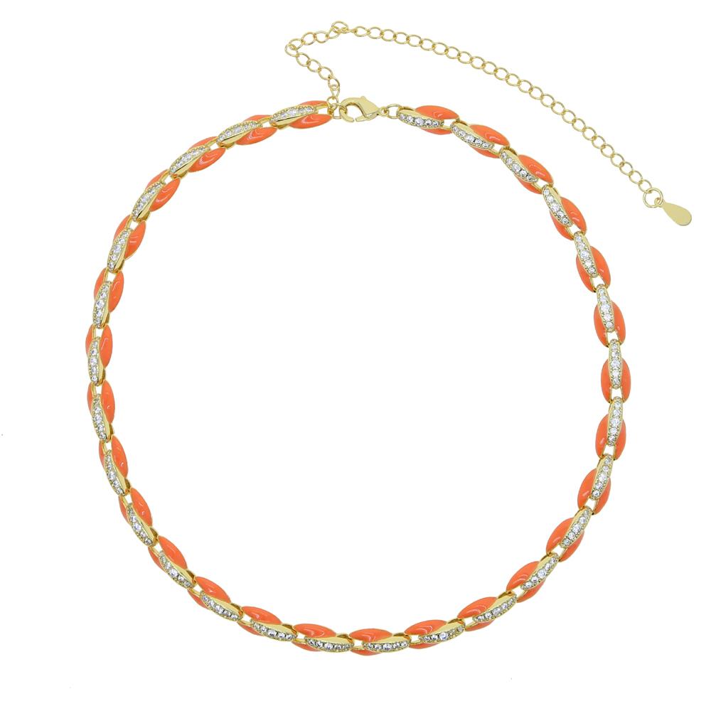 Collier d'orange