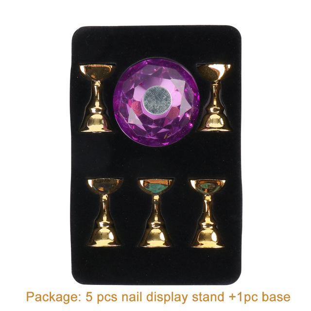حجر الراين الممارسة حامل (1 5) -purple