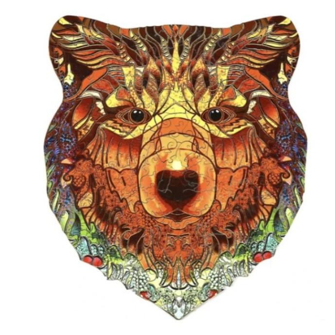 Бумажная коробка медведя A4