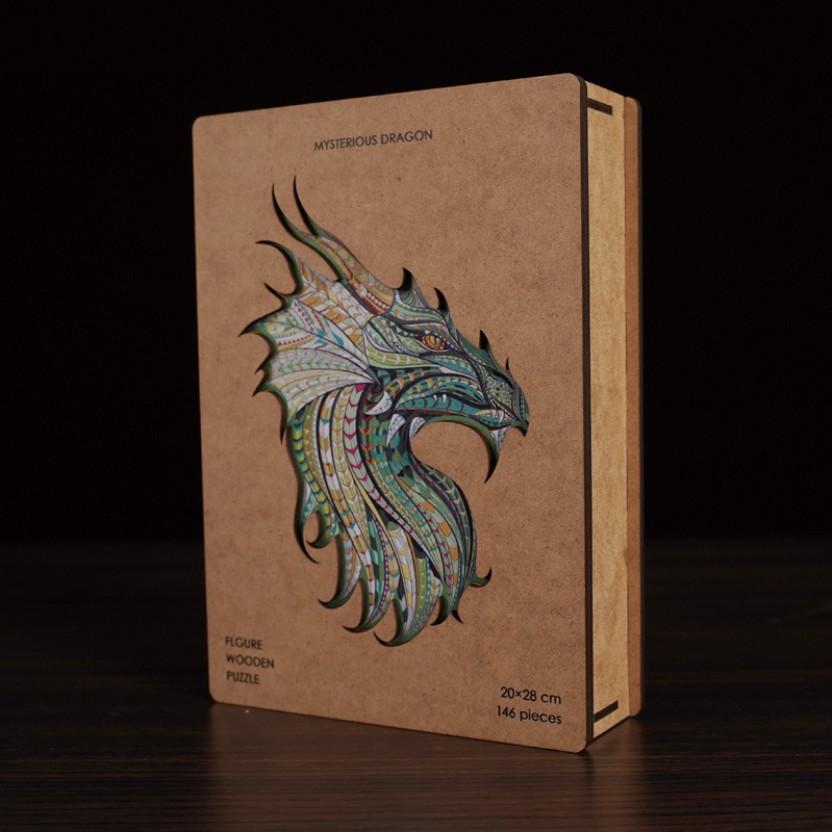 Dragon King-Joge деревянная коробка