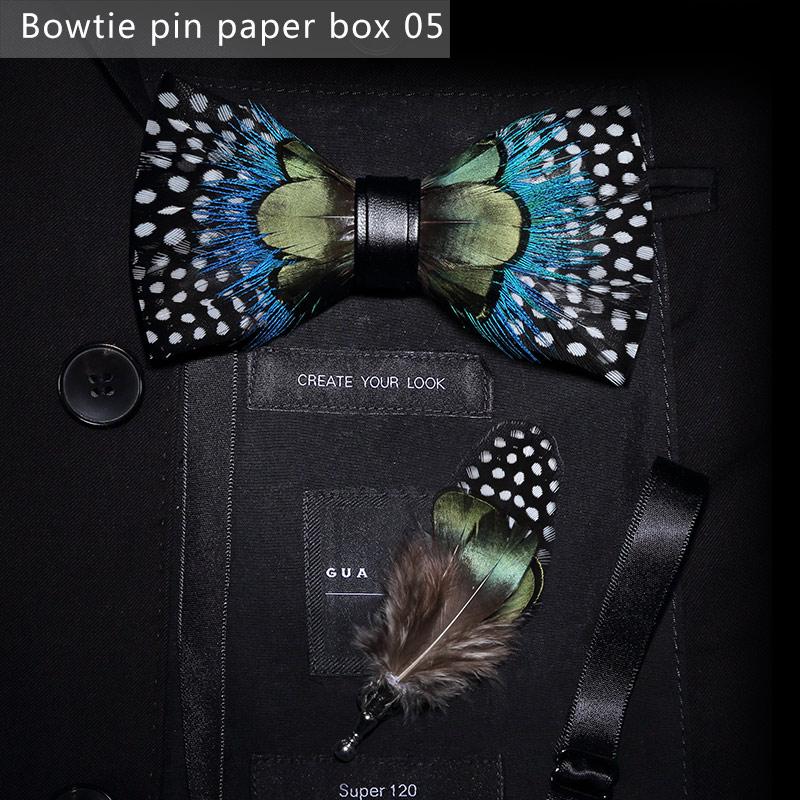 Scatola di cartone per cravatta a farfalla5
