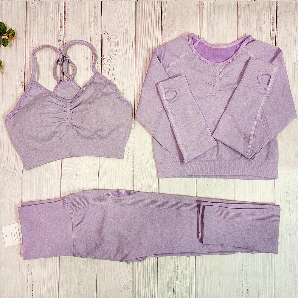 Светло-фиолетовый 3шт