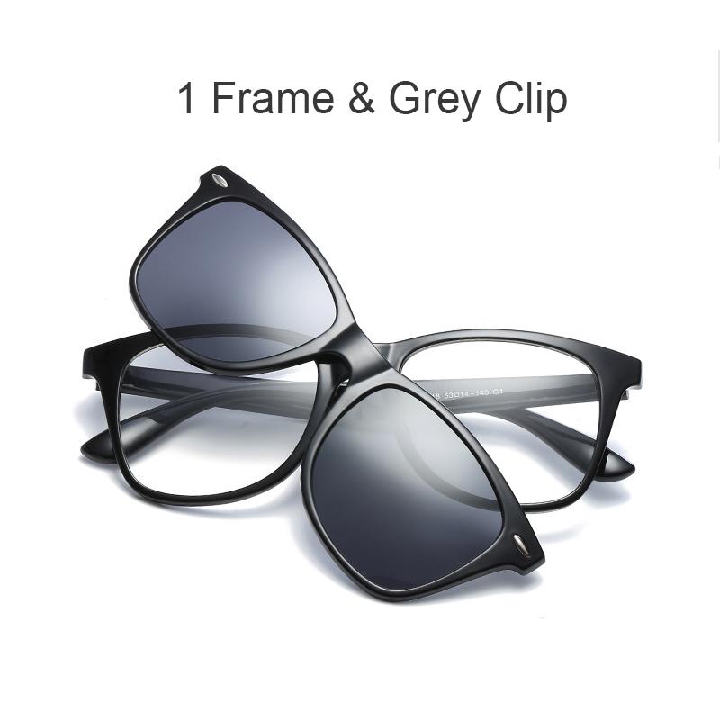 C1 con clip gris