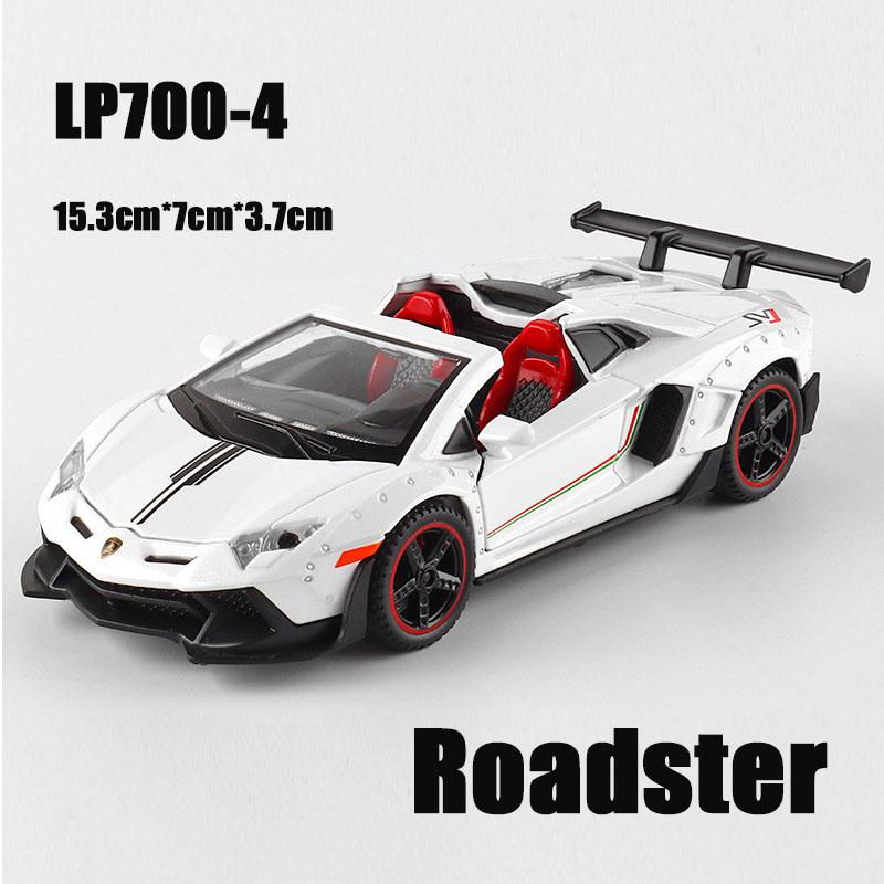 LP700 Roadster White.