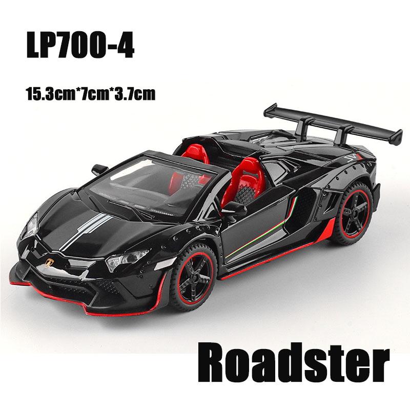 LP700 Roadster Black.