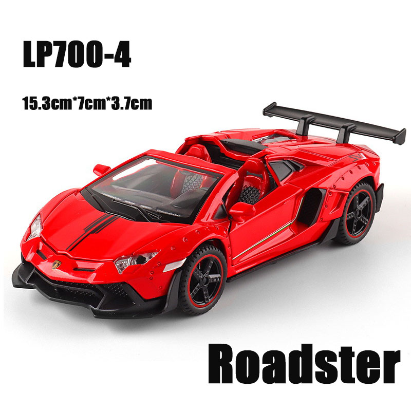 LP700 Roadster Red.