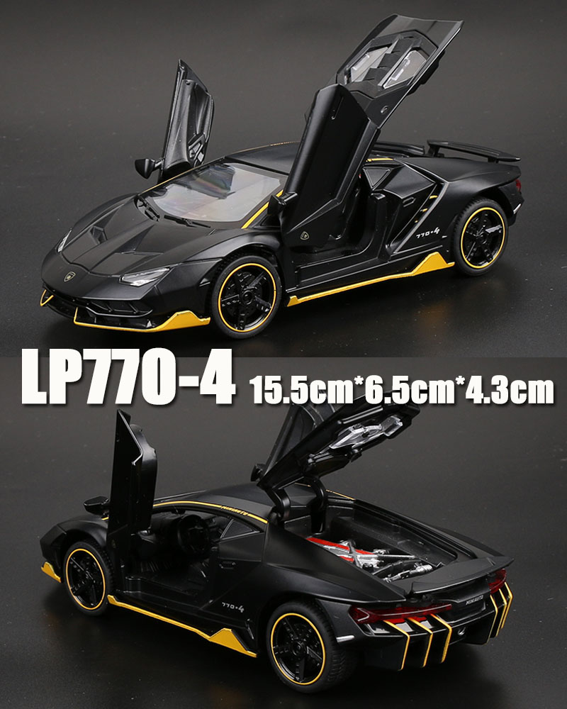 LP770 أنيقة سوداء