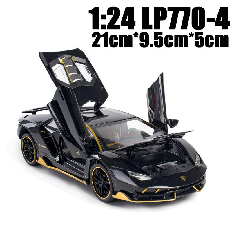 24 LP770 أسود