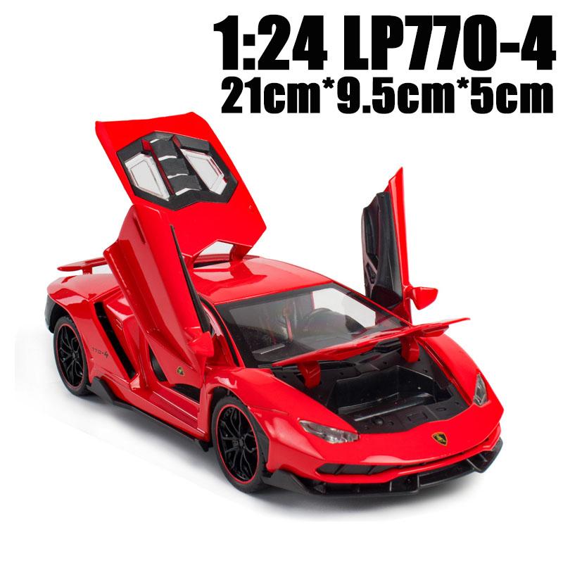 24 LP770 أحمر.