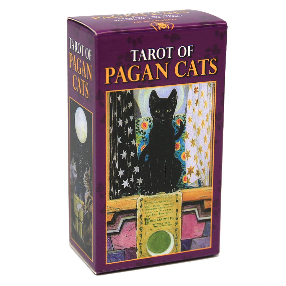tarot pagan cats