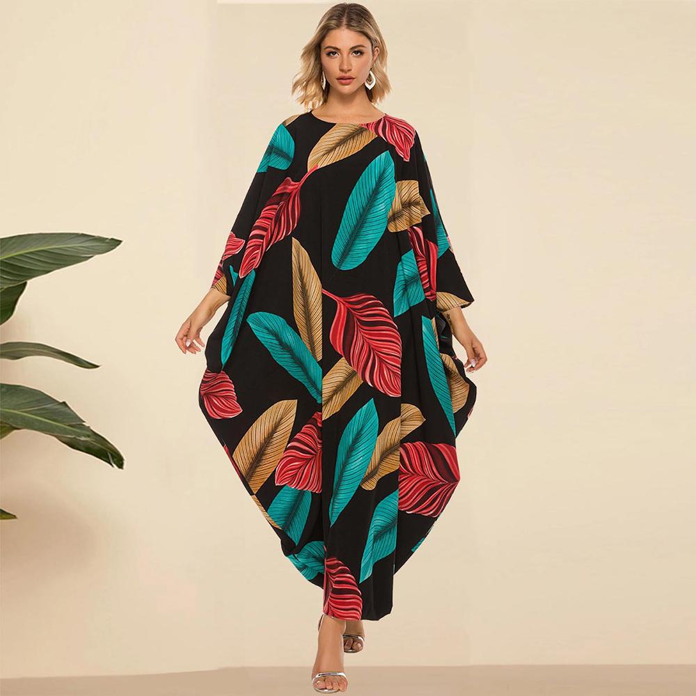 Abaya Gown 드레스 한 사이즈