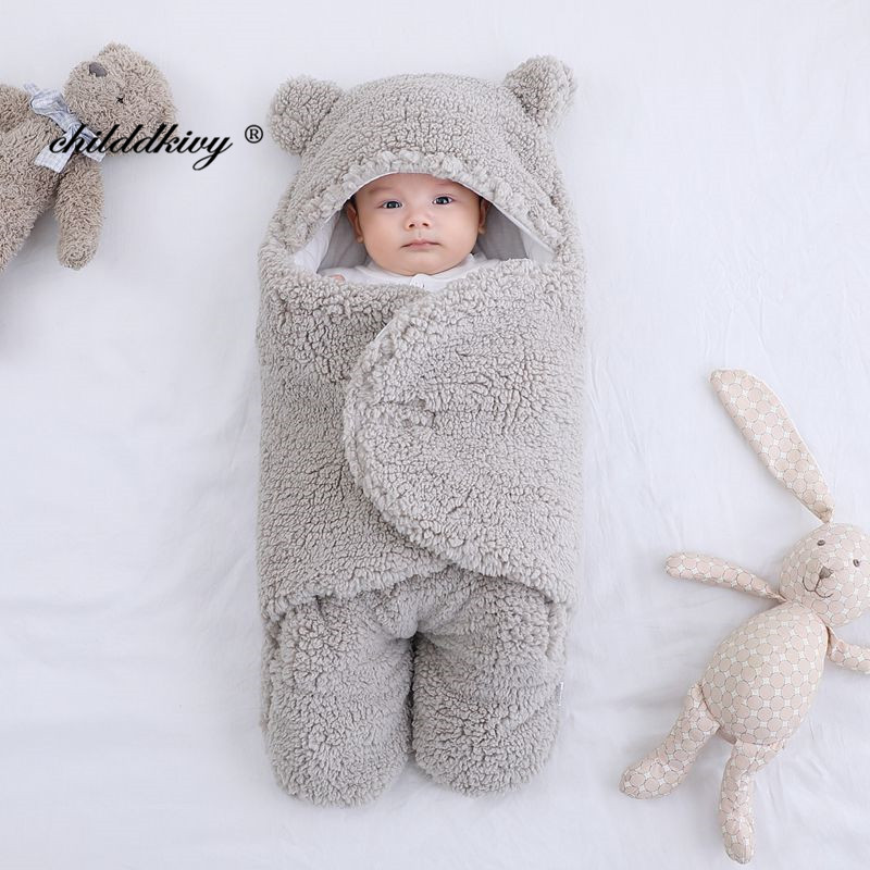 gray-Fleece 0-3M
