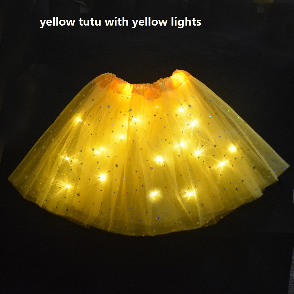تنورة صفراء