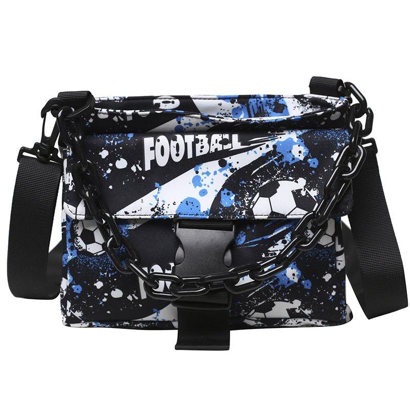 푸른 어깨 가방