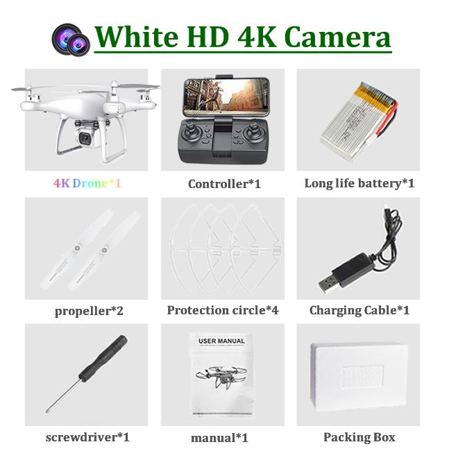 4K-1 카메라 화이트