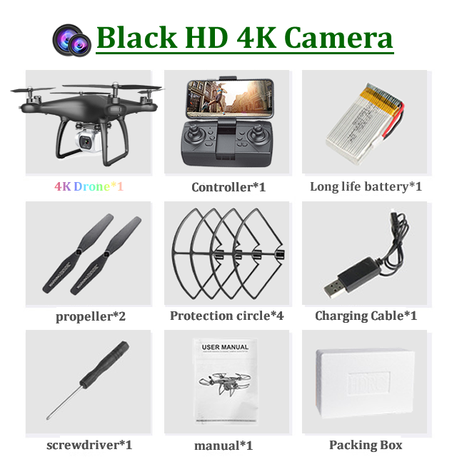 4K-1 카메라 블랙
