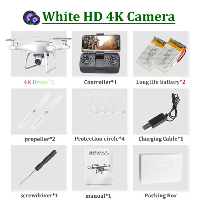 4K-2 카메라 화이트