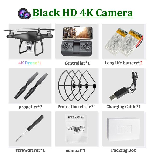 4K-2 카메라 블랙