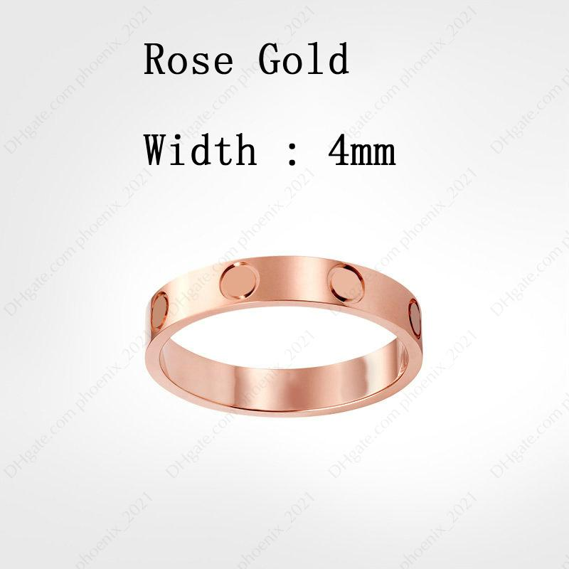 Rose Gold (4 mm)