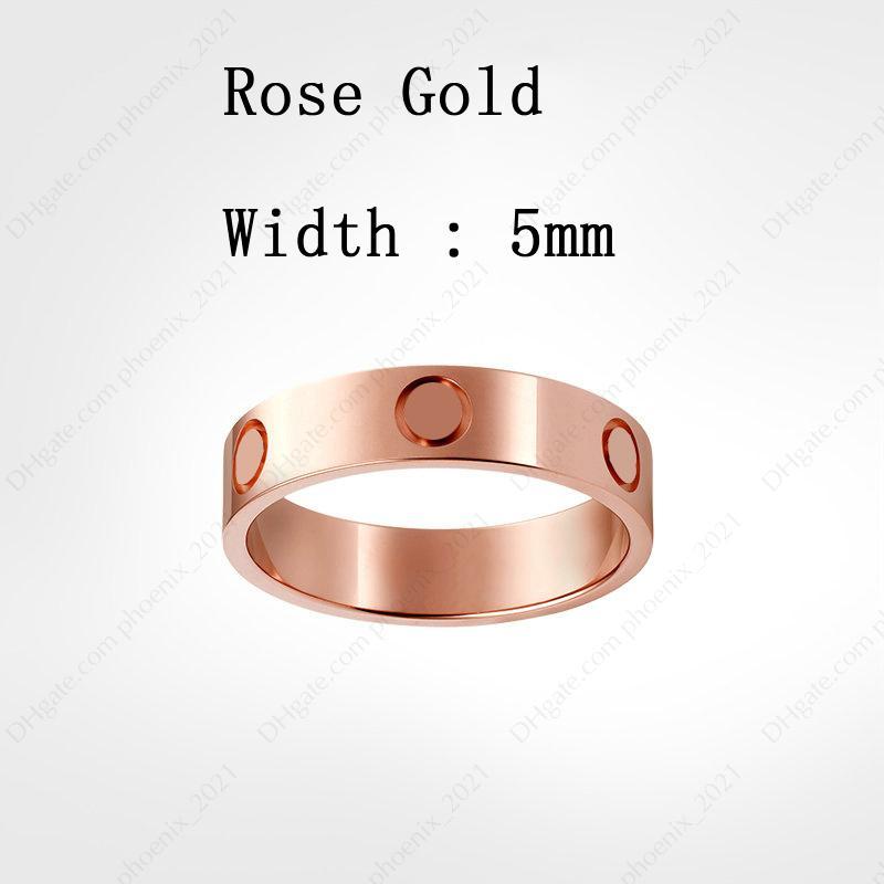 Rose Gold (5 mm)