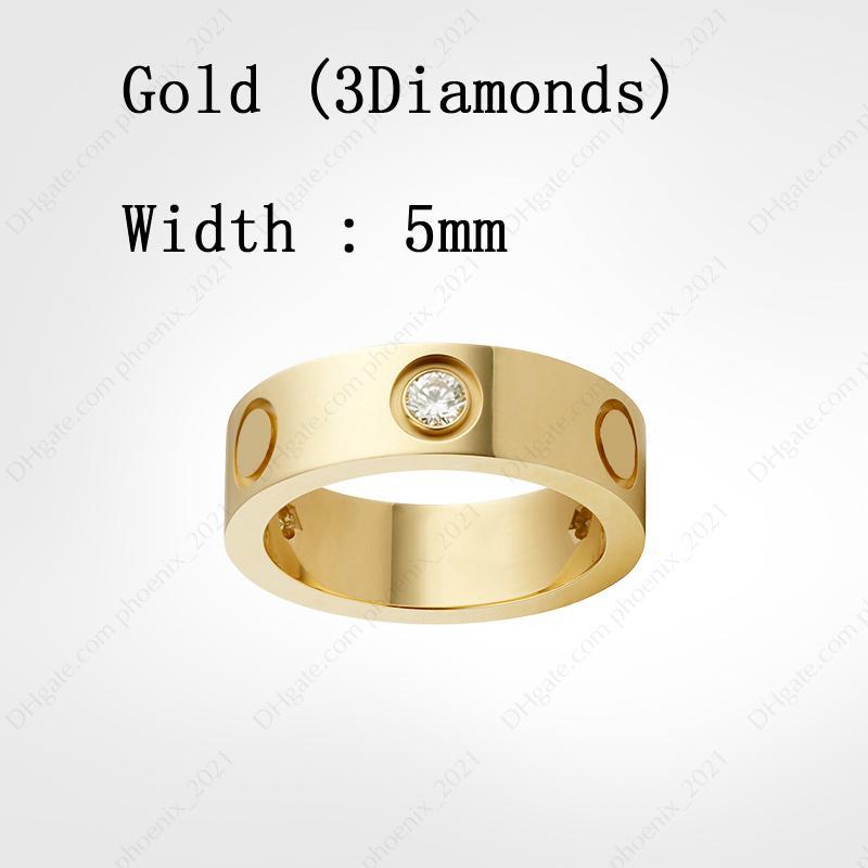 Gold & Diamonds (5 mm)