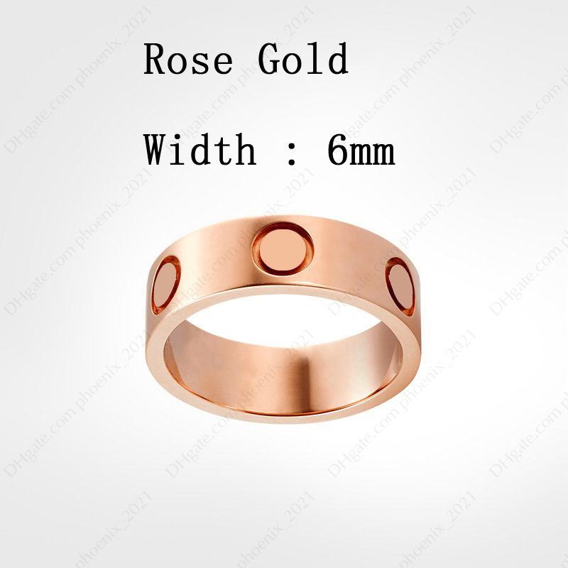 Rose Gold (6 mm)
