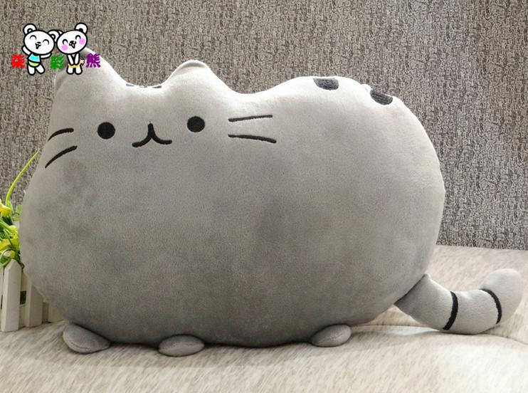Pusheen The Cat Big Pillow Cushion Biscuits Cat Plush Toy