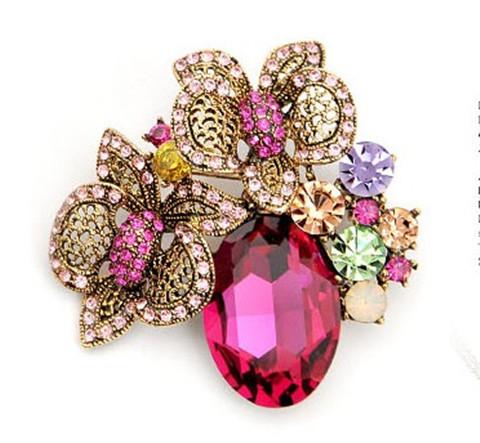 Hot Pink_Antique Gold