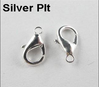 1000pcs الفضة مطلي