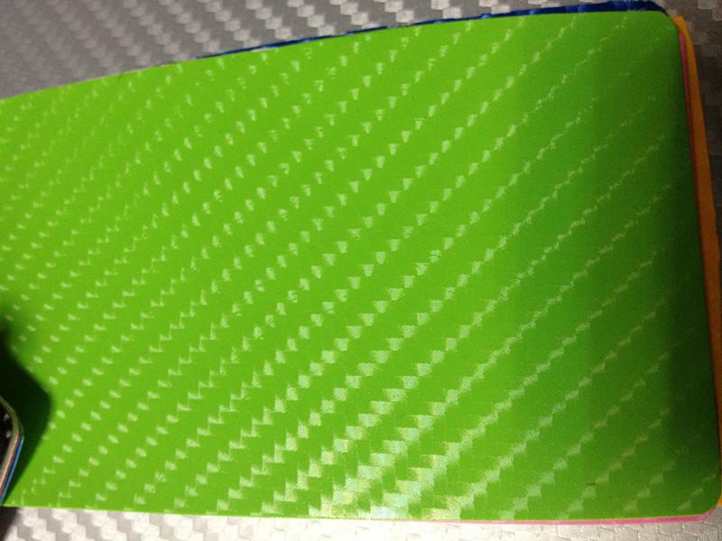 Grön kol + 3pcs strålkastarefilm