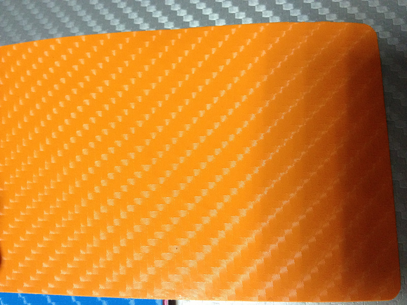 Orange kol + 3pcs strålkastarefilm