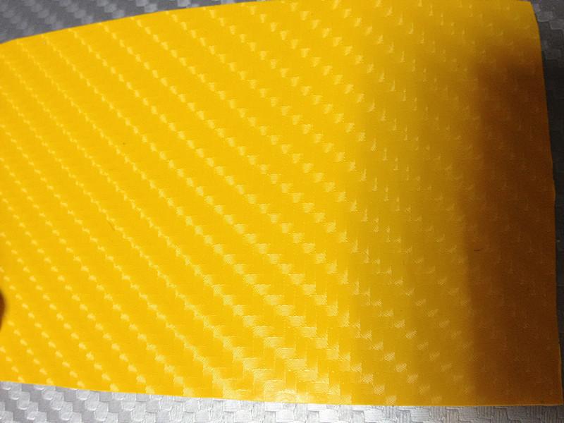 Gult kol + 3pcs strålkastarefilm