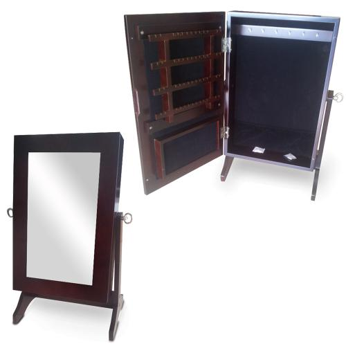 mirrored jewelry cabinet wood table top jewelry box mirror jewelry cabinet free 23407