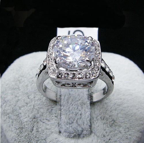 all white Ring