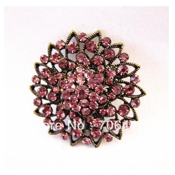 bronspläterad lila